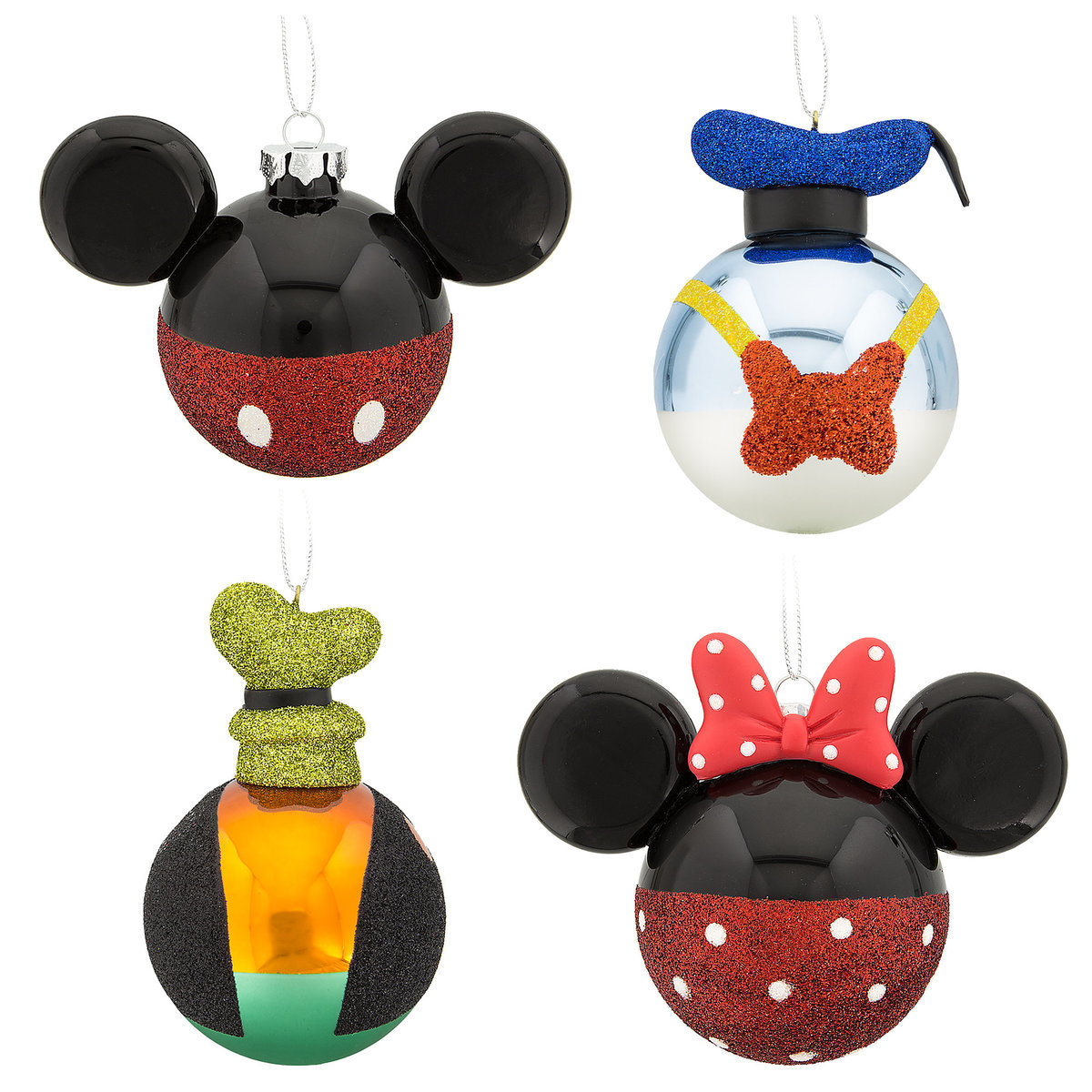 Your wdw store disney christmas ornament set mickey for Christmas items