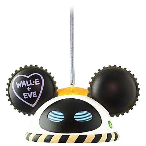 Disney Ears Ornament - Wall-E - Limited Edition #5033